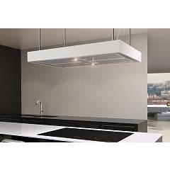 Airforce Ccf161a9026 Cappa isola cm 90 – inox / bianco Axial