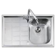 Barazza 1llv90/1s Lavello incasso inox 86x50 1 vasca dx B_level