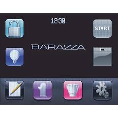 Barazza - forno multifunzione VELVET 1FVLTBD - display touch screen