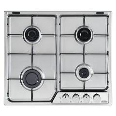 De Longhi Taf46 Piano cottura a gas cm 60 - inox Talent