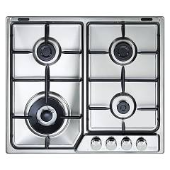 De Longhi If46asdvspn Piano cottura a gas cm. 60 - inox Soft
