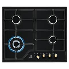 Electrolux Egs6436rk Piano cottura a gas cm. 60 - nero opaco