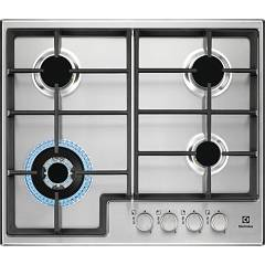 Electrolux Egs6436x Piano cottura a gas cm. 60 - inox