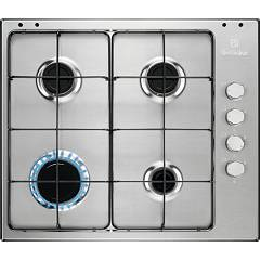 Electrolux Egs6404sx Piano cottura a gas cm. 60 - inox