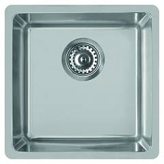 Elleci Space 400 R15 Lavello sottotop 44 x 44 - inox Space R15
