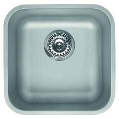 Elleci Space 400 R50 Lavello sottotop 44 x 44 - inox Space R50
