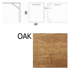 Fgf K963 Prolunga 60x90 oak