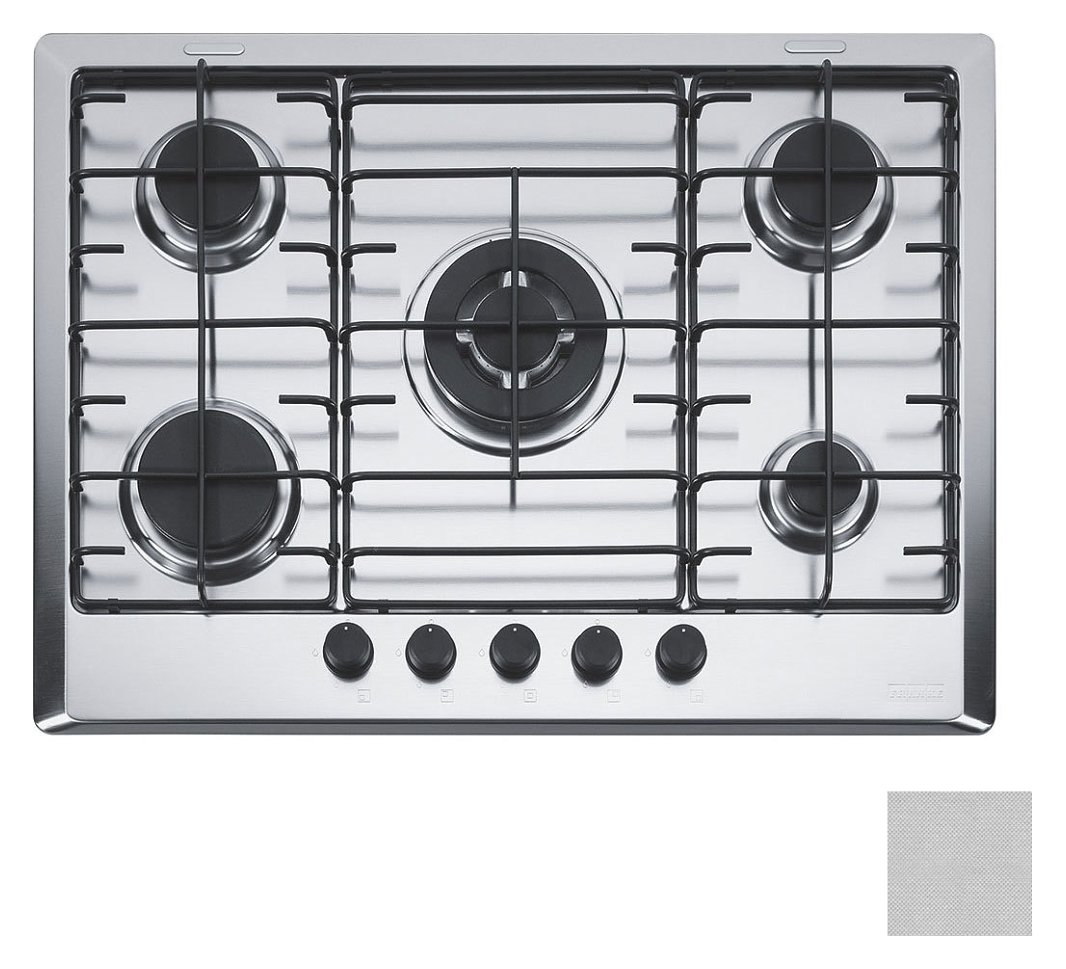 Foto 1: Franke FHM 705 4G TC XT E Multi Cooking 700 Piano cottura a gas cm. 70 - microdekor 106.0037.451