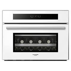 Fulgor Fwc 4524 Tc Wh-s Cantina vini cm 60 - bianco - apertura sinistra Special Compact