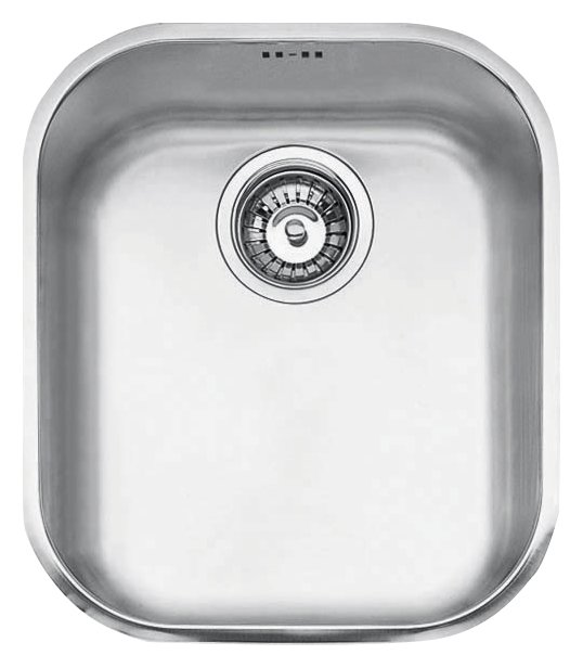 Lavello 1 vasca sottotop Jollynox 1I3439S - 34 x 39 - inox - frontale