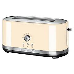 Kitchenaid Ikmt4116ac Tostapane artisan a 2 scomparti lunghi - crema