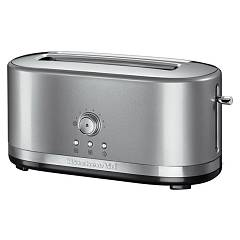 Kitchenaid Ikmt4116cu Tostapane artisan a 2 scomparti lunghi - argento placcato