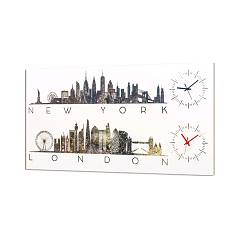Pintdecor New York Time Orologio cm. 80 x 40