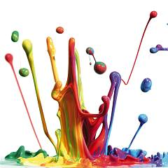 vendita Pintdecor Splash Multicolor Quadro Cm. 40 X 40