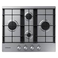 Samsung Na64h3010bs/o1 Piano cottura a gas cm. 60 - inox griglie in ghisa