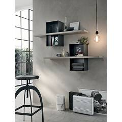 Target Point ML501 - MODUS Mensola in metallo e legno