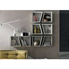 Target Point Pp118 - Corner Libreria componibile in legno