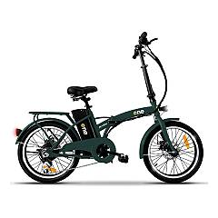 The One Easy Bicicletta elettrica - forest green