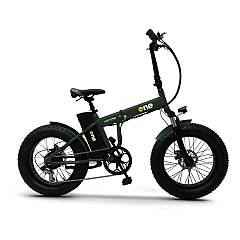 The One Nitro Bicicletta elettrica - forest green
