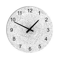 Tomasella Clock 603 Orologio parete design 45 cm - metallo Clock Collection