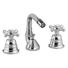 Treemme 4427 Rubinetto bidet con scarico Old Italy