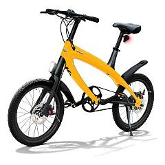 V-ita Smart Plus Solid Bicicletta elettrica - sunset yellow