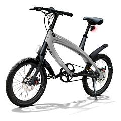 V-ita Smart Plus Solid Bicicletta elettrica - dark still grey