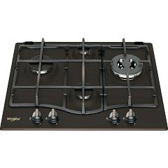 Whirlpool Gmt6422an Piano a cottura a gas cm. 60 - nero