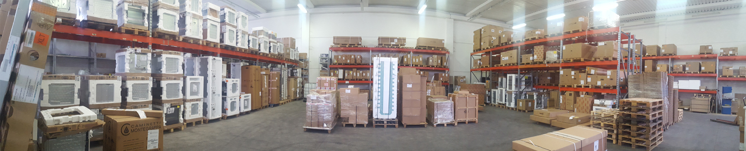 Discover the Vieffetrade warehouse